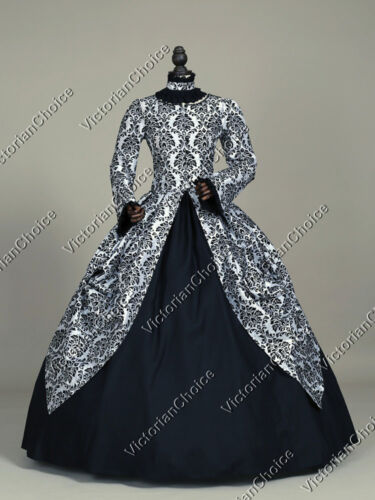 Victorian Costume Dresses & Skirts for Sale    Victorian Period Dress Princess Gothic Theater Punk Reenactment Costume 156 $159.00 AT vintagedancer.com