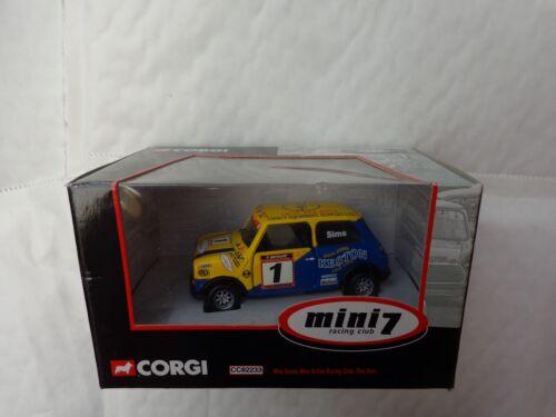 CORGI 1//36 MINI MANIA TIM SIMS #1 MINI 7 RACING CLUB MORRIS MINI CC82233