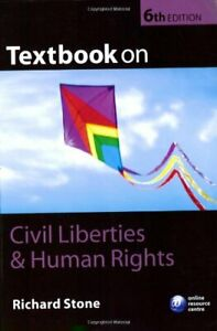 Details about Textbook on Civil Liberties and Human Rights By Richard Stone. 9780199287000