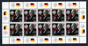 Bund-10-x-1904-postfrisch-KB-Zehnerbogen-Ludwig-Erhard-1997-BRD-10-er-Bogen