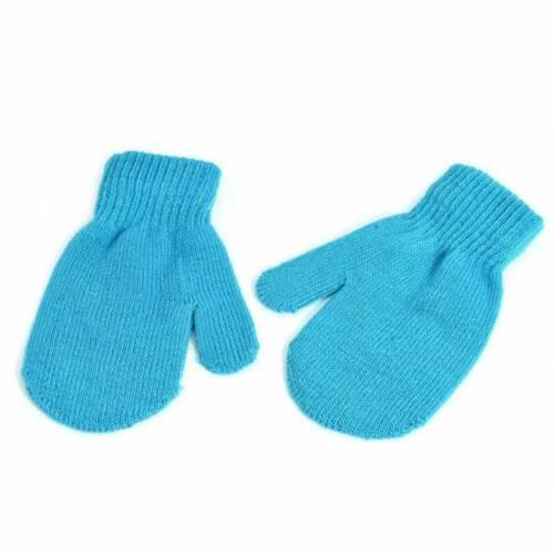 Winter Toddler Kids Gloves Baby Boy Girls Cute Soft Knitting Mittens Warm Gloves