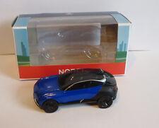 Norev Minijet Showroom Peugeot Concept Car Quartz blue Brand new. 3 inches