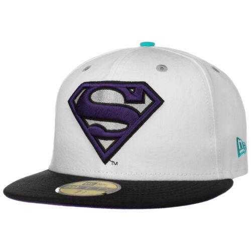 NEW ERA 59Fifty Exclusive Superman Cap Basecap Baseballcap Flat Brim Fitted