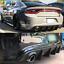 Fits-15-19-Dodge-Charger-SRT-Factory-Style-Rear-Diffuser-Bumper-Lip-Unpainted-PP miniature 2