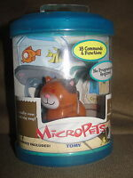 2002 Tomy Micropets Voice Activated Coco Cat Interactive Pet