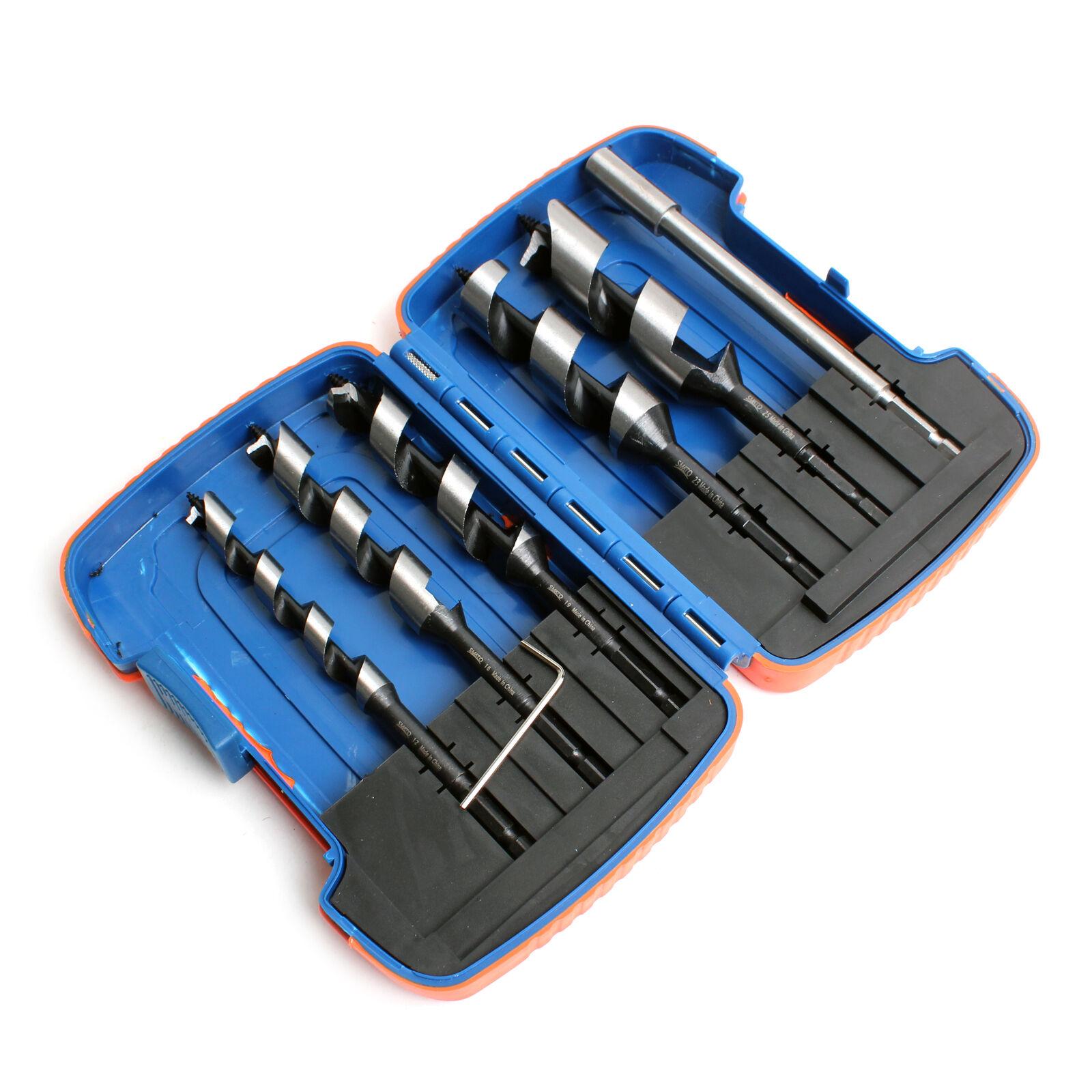 Woodworking Auger Drill Bit Set 12 mm 16 mm 19 mm 23 mm 25 mm Length 165mm