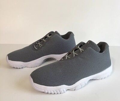 new arrival b820f 56282 Nike Air Jordan Future Low Sneakers Grey Mist White-Cool Grey 718948-003