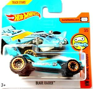 HOT-WHEELS-BLADE-RAIDER-HW-NUMERIQUE-CIRCUIT-TRACK-STARS-Mattel-1P
