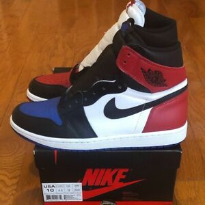 "117247ad17f450 VNDS Air Jordan 1 Retro High OG ""Top 3"" sz 10 Bred Royal Black Toe ..."