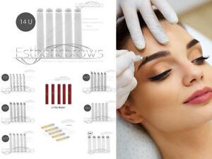 Microblading-Permanent-Make-up-14-U-Blades-Nadeln-Qualitaet