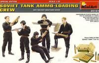 Russiche Sowjetische Soviet Soldaten mit Munition Ammo-Loading Tank Crew - 1:35