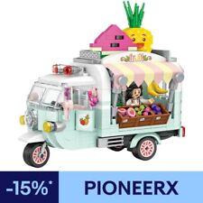 LOZ-1737 Bloques de construcción Bloques de carro de frutas Juguetes 480PCS