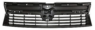 dacia duster 13 to 14 front grille black new