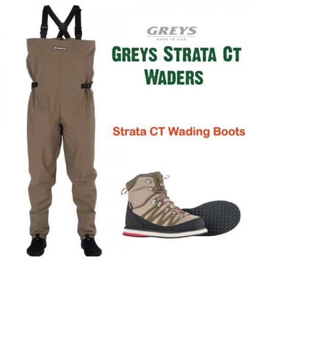 graus Strata CT Wader Lightweight Breathable Waders With Wading Stiefel