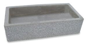 Vasca Da Lavare In Cemento : Bonfante lavello acquaio da muro cemento marmo olimpo grigio