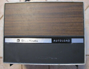 Vintage Bell & Howell Autoload Super 8 Projector Model 462A *For Parts Only*