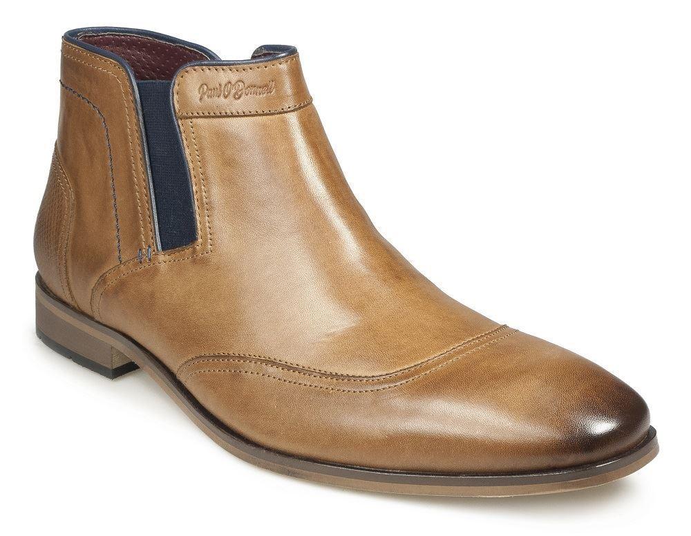 Paul O 'Donnell Da Uomo Taglia Chelsea Boot-Oregan cognac in Taglia Uomo UK6 a UK15 0497b6