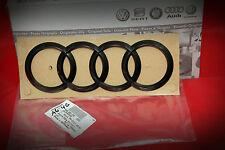 Audi Rnge Emblem Logo Klavierlack Schwarz Hochglanz Heck Audi RS6 S6 A6 4G