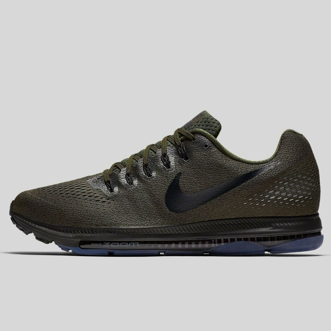 Nike Zoom All Out Trainer9 EU44 Cargo Khaki Pure Platinum Noir RRP£120.00