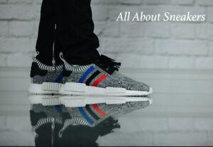 Détails sur Adidas NMD R1 PK Primeknit tricolore Gris OG BB2888 morts et V RARE YOGI afficher le titre d'origine