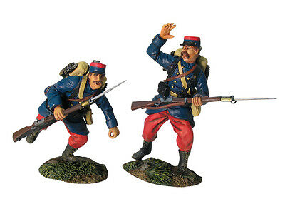 BRITAINS NAPOLEONIC FRENCH 36003 LIGHT INFANTRY VOLTIGEUR CHARGING #2 MIB