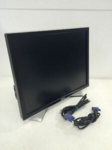 "1x DELL 2007FPB 20"" Flat Panel Monitor Gray Black w/Base VGA Cable QTY AVAILABLE"