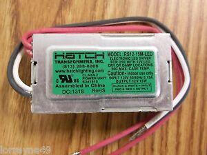Hatch-RS12-15M-LED-120V-gt-11-5V-15WATT-MAX-FOR-12V-LED