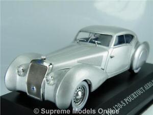 Delage d8 120 Aero Coupe ARGENTO 1938 1:43 Ixo//Altaya modello di auto//DIE-CAST