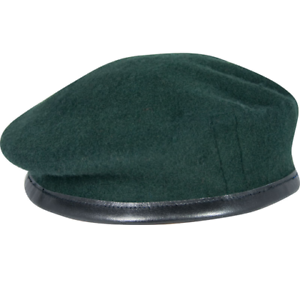 Rifle Green Officers Small Crown Beret 59 cm Rifle Green