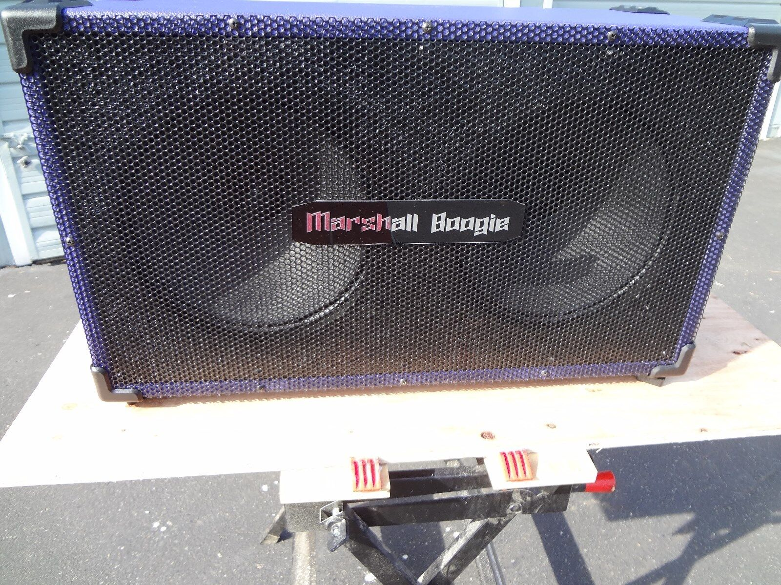 2X12 Cabinet Marshall Boogie Celestion WGS speakers lila or schwarz