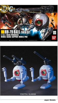 Gundam Hg 114 1/144 Rb-79 Ball Twin Set E.f.s.f Mass Production Bandai Model Kit