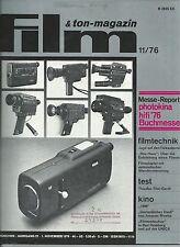 Film & Ton-Magazin 11/76 Bertolucci 1900 Jaques Rivette Unsterbliches Duell