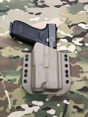 Kryptek Mandrake Kydex Light Bearing Holster for Glock 17 22 31 Inforce APL