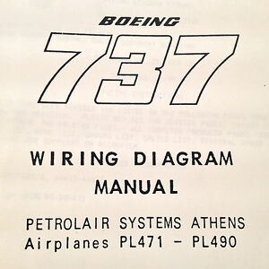 details about boeing 737 pl471 pl490 wiring diagram manuals, a 2 vol set Boeing Exploded View