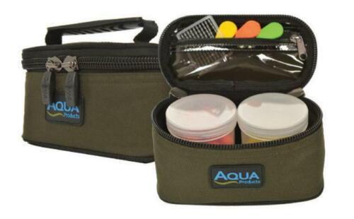 Carp Fishing Luggage Aqua Products Roving 2 Pot Glug Bag Black Series