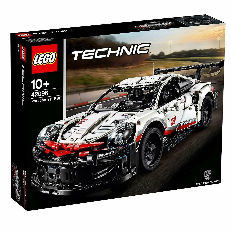 LEGO Technic Porsche 911 RSR - Förlaga 42096 (tio år)