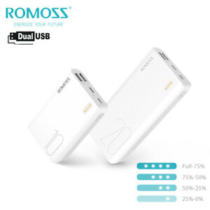 ROMOSS Portable Charger Power Bank External Battery Backup for iPhone Samsung LG
