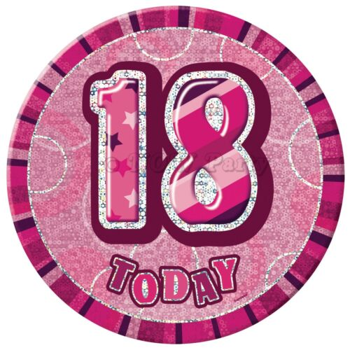 Pink Girl Milestone SPECIAL 18th Age 18 birthday Party Supplies decorations