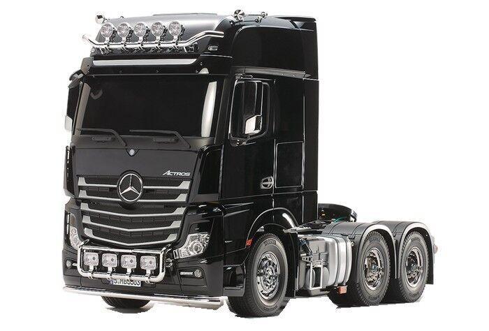 descuento de bajo precio Tamiya RC RC RC M Benz Actros 3363 6X4 GigaSpace Tractor Camión Nuevo en Caja Kit 56348  Ahorre 35% - 70% de descuento