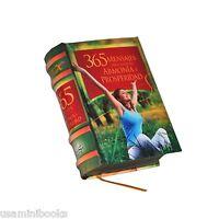 Miniature Book 365 Mensajes Para Vivir En Armonia Y Prosperidad Illustrated
