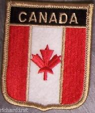 Embroidered International Patch National Flag of Canada NEW bunting