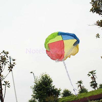 25 inch Tanglefree Nylon Net Toy Parachute with Carabiner Bear Figure/Man