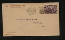 US  Vaccum Oil Co, Rochester, NY  ad cover  1893         MS0311