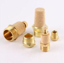 Brass Pneumatic Muffler Silencer Exhaust Vent Noise Filter M5 181 Bsp Thread