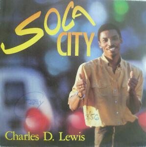 """7"""" 1990 KULT ! CHARLES D. LEWIS : Soca City / MINT-? \ - Dorfen, Deutschland - 7"""" 1990 KULT ! CHARLES D. LEWIS : Soca City / MINT-? \ - Dorfen, Deutschland"""