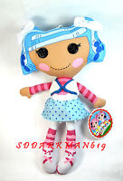 Lalaloopsy Plush Doll - Mittens Fluff 'n' Stuff -13 Plush Rag Doll