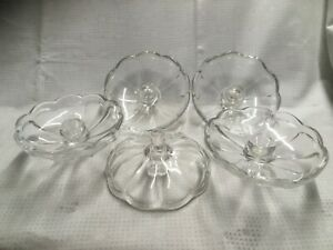 Bobeche Clear Smooth Glass