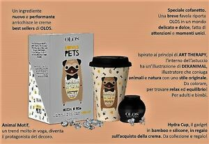 OLOS-CREMA-VISO-50ml-TAZZA-HYDRA-CUP-LOVE-PET-per-BEVANDE-CALDE-Limited-Edition