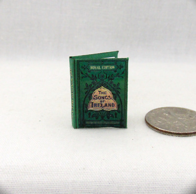 DENSLOW DOLLHOUSE SCALE W 1:12 SCALE MINIATURE BOOK THE ABC BOOK W