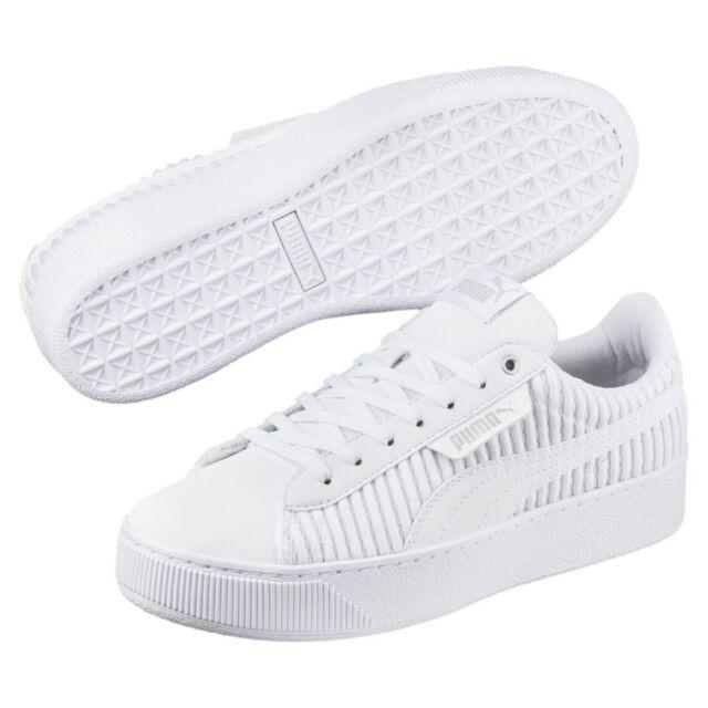 Details zu Puma Vikky Platform Women schwarz Damen Freizeitschuhe Sneaker 365239 02